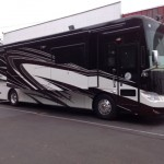 All New Tiffin Allegro Bus 37AP in the Cinderwood Exterior! This is HOT!