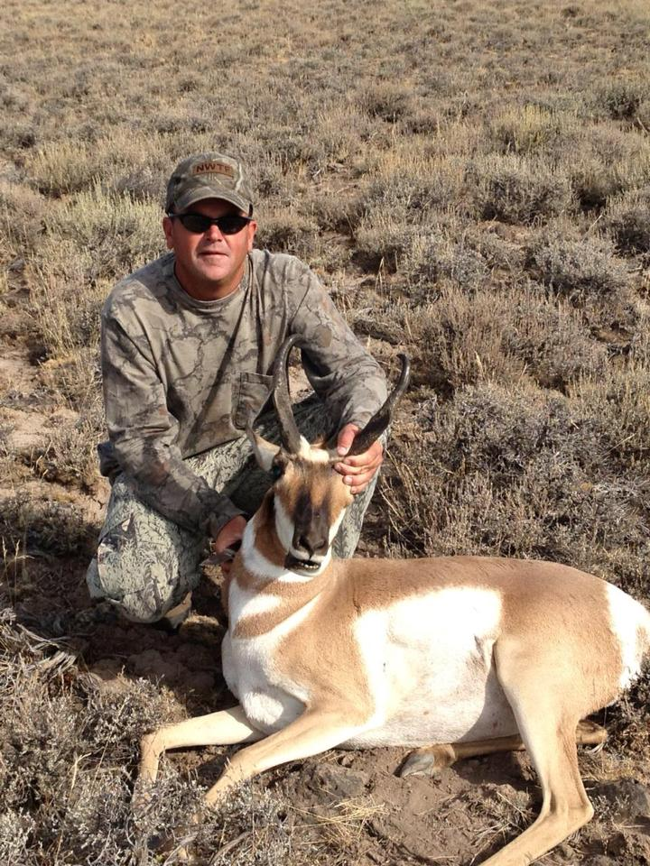 John's Oregon Warner Unit Rifle Pronghorn Buck!