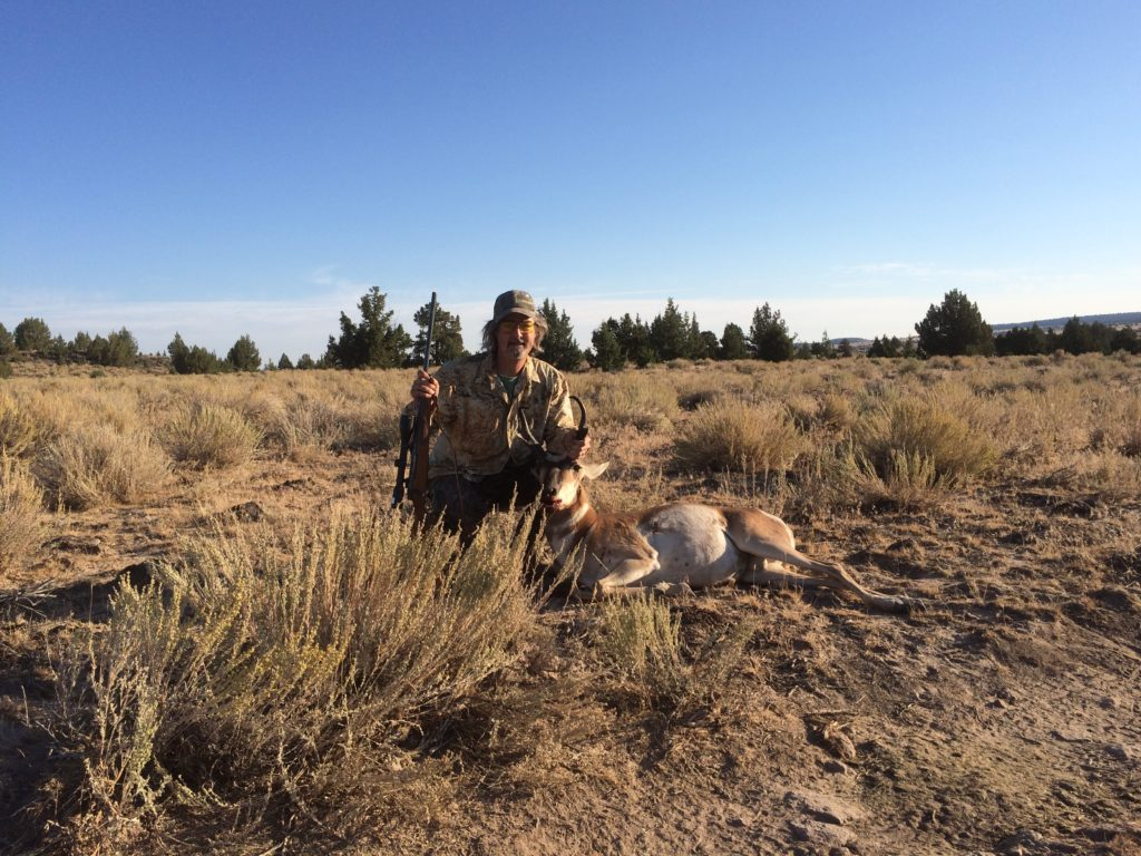 Derek's hard earned Pronghorn from the Steens Mountains in Oregon